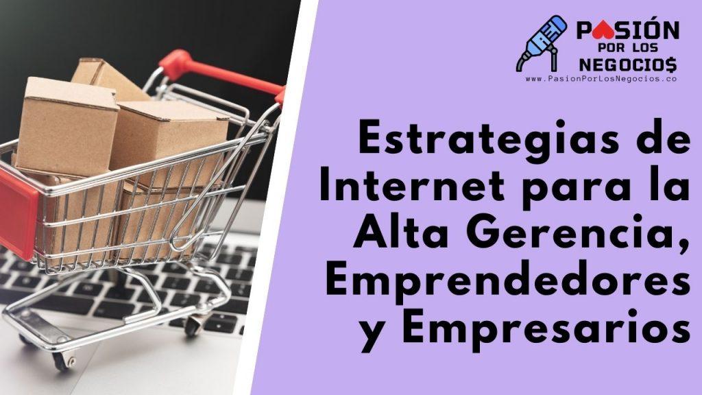 Estrategias de Internet para la Alta Gerencia, Emprendedores y Empresarios